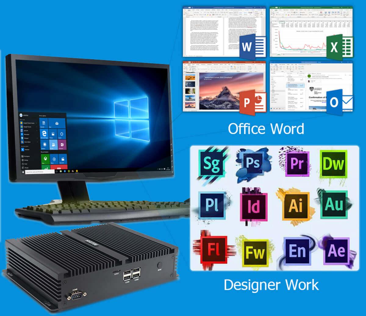 HYSTOU P05B Desktop Computer